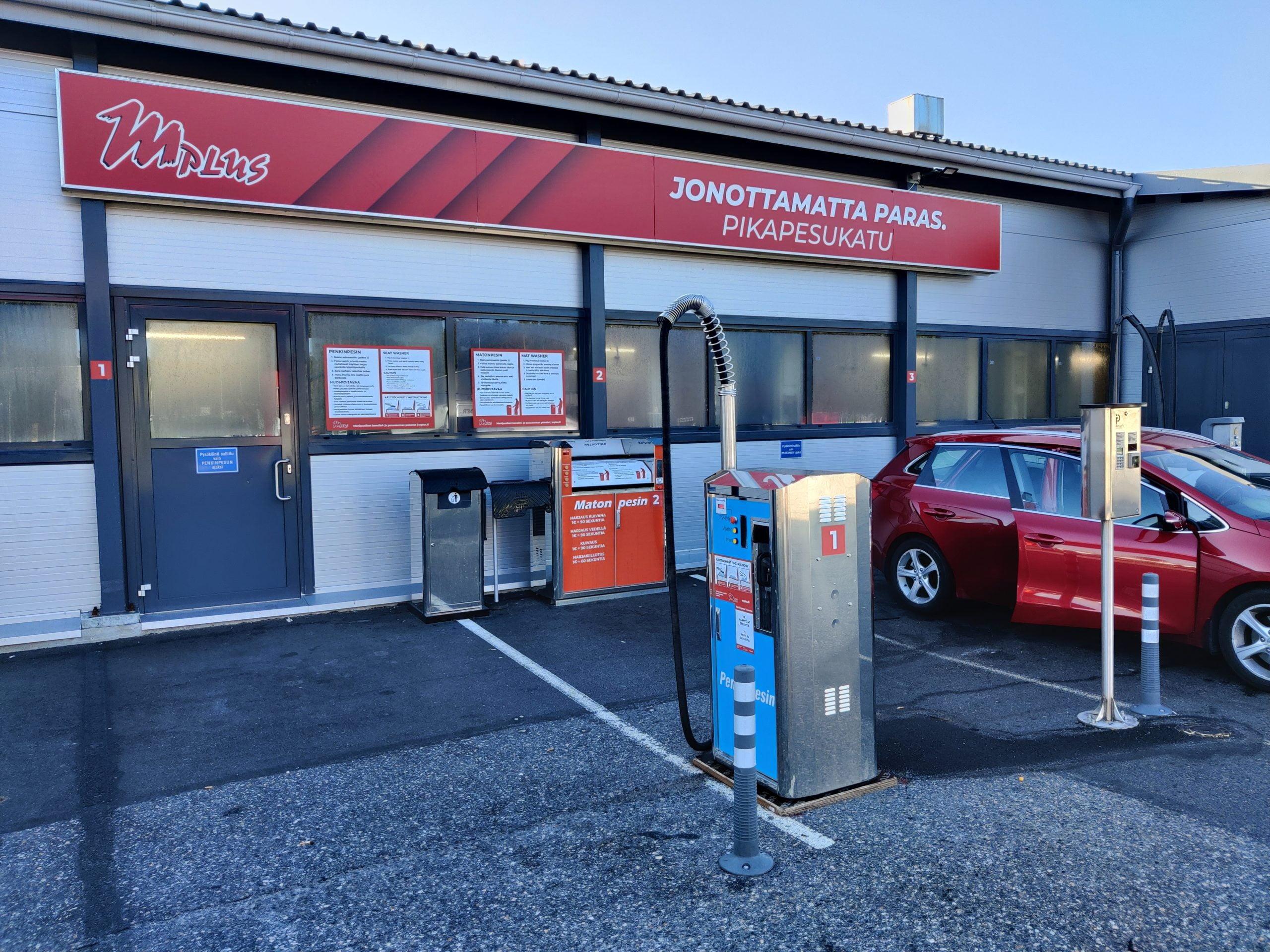 M Plus Turku auton mattopesu ja sisäpesu